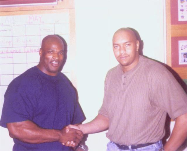 Ronnie Coleman and me